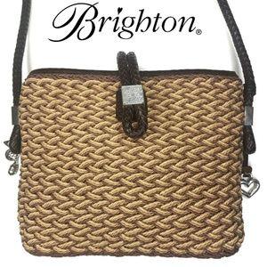 Brighton Roxanne  Cross Body Wicker Woven Bag